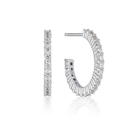 Georgini Ara Hoop Earrings 20mm