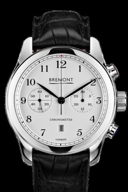 Bremont Alt1-C polished white Ref Alt1-C/PW