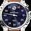 Thumbnail: MeisterSinger Salthora Meta (Jumping Hour) Sunburst Blue
