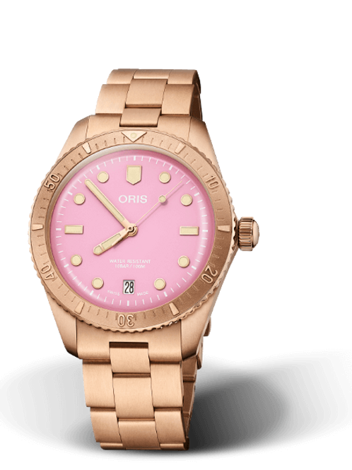 ORIS DIVERS SIXTY-FIVE Cotton Candy Pink