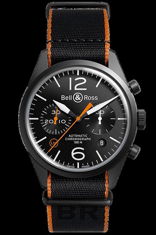 Bell&Ross BR126 Carbon Orange Ref: BRV126-O-CA