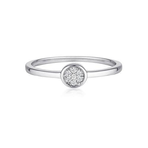 Georgini Silver Dotti Ring