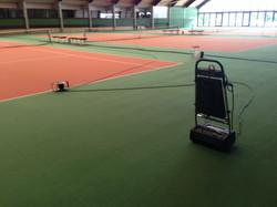 tennishalle weiden