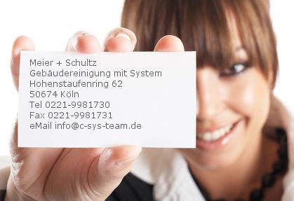 Impressum Meier + Schultz Die Bodenreinigungs-Profis