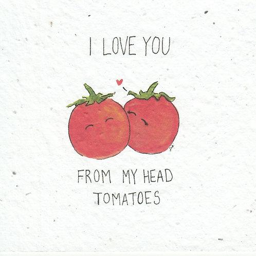 Okku Design - Tomatoes Seeded Card