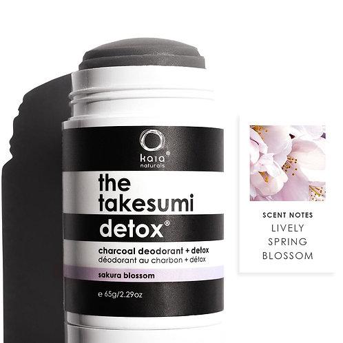 KAIA NATURALS - Charcoal Deodorant SAKURA BLOSSOM