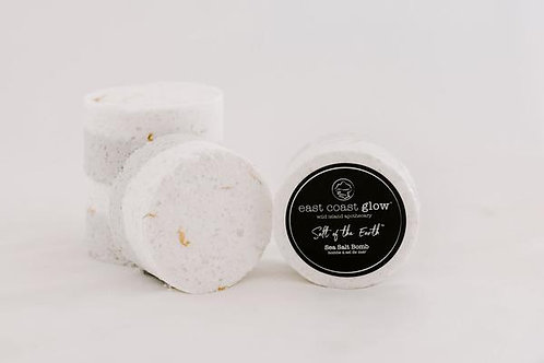 EAST COAST GLOW - Wild Lavender + Oatmeal Sea Salt Bomb
