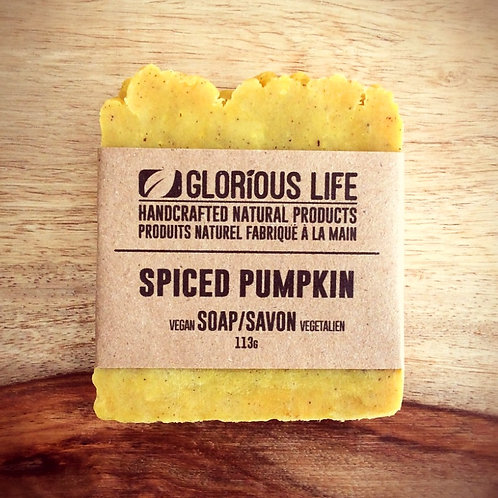 GLORIOUS LIFE - Spiced Pumpkin Soap
