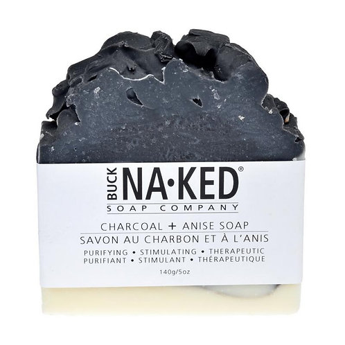 BUCK NAKED - Charcoal + Anise Soap