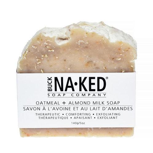 BUCK NAKED - Oatmeal + Almond Milk Soap