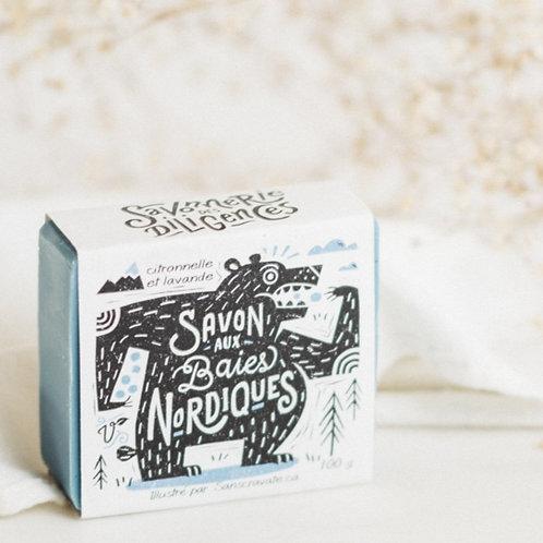 SAVONNERIE DES DILIGENCES - Northern Berries Soap