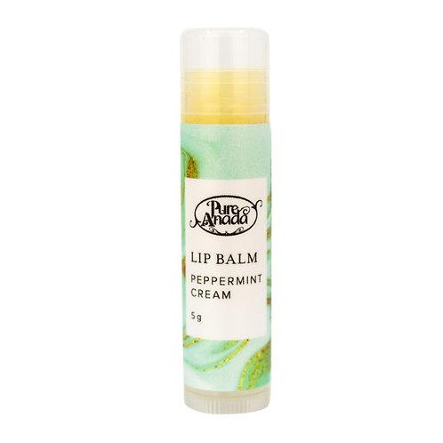 PURE ANADA - Peppermint Cream Lip Balm
