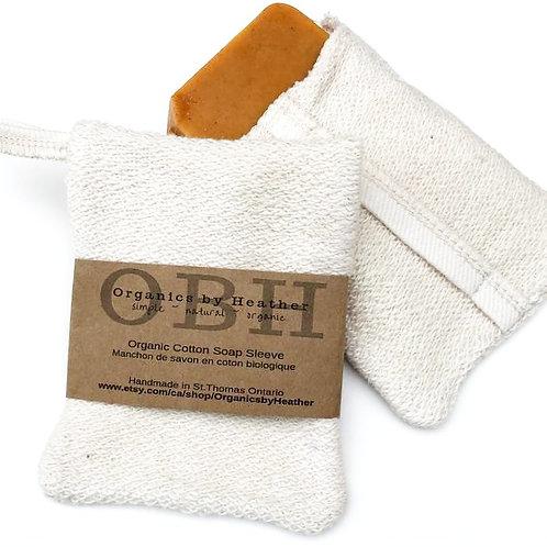 ORGANICS BY HEATHER - Organic Cotton Soap Sleeve