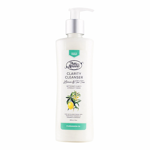 PURE ANADA - Clarity Lemon + Tea Tree Cleanser