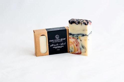 EAST COAST GLOW - Wild Lavender + Oatmeal Iceberg Soap