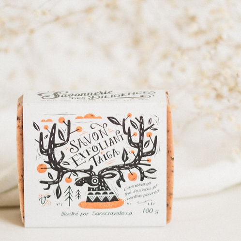 SAVONNERIE DES DILIGENCES - Taïga Exfoliating Soap