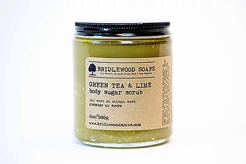 BRIDLEWOOD - Green Tea & Lime Body Sugar Scrub