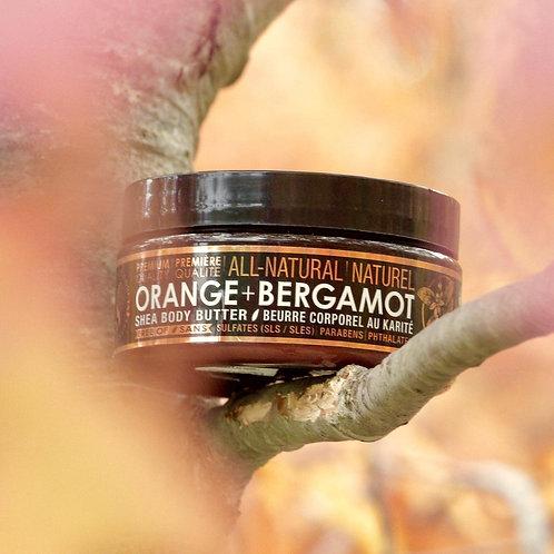 MAMA'S LIFE PRODUCTS - Orange + Bergamot Shea Body Butter