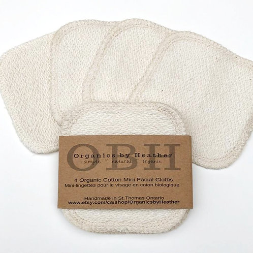 ORGANICS BY HEATHER - Organic Cotton Facial Squares