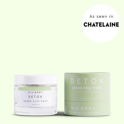 NIU BODY - Detox Green Clay Mask