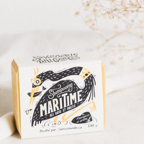 SAVONNERIE DES DILIGENCES - Maritime Pink Salt + Clay Shampoo Bar
