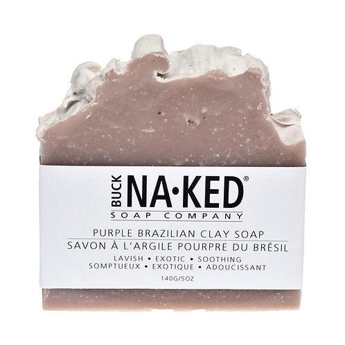 BUCK NAKED - Purple Brazilian Clay Soap