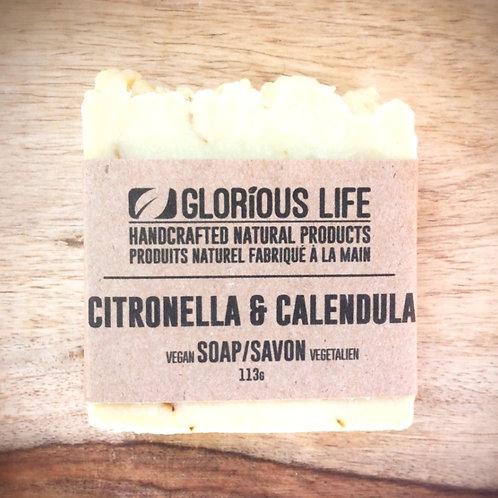 GLORIOUS LIFE - Citronella + Calendula Soap
