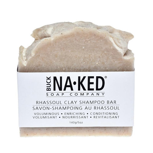 BUCK NAKED - Rhassoul Clay Shampoo Bar