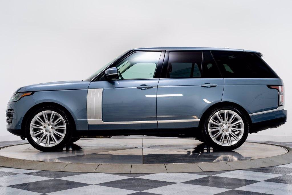 Range Rover Royal Blue Exotic