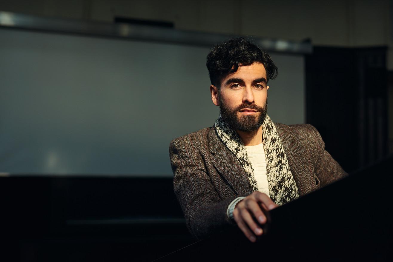 Chiliean Writer Tomas Cohen