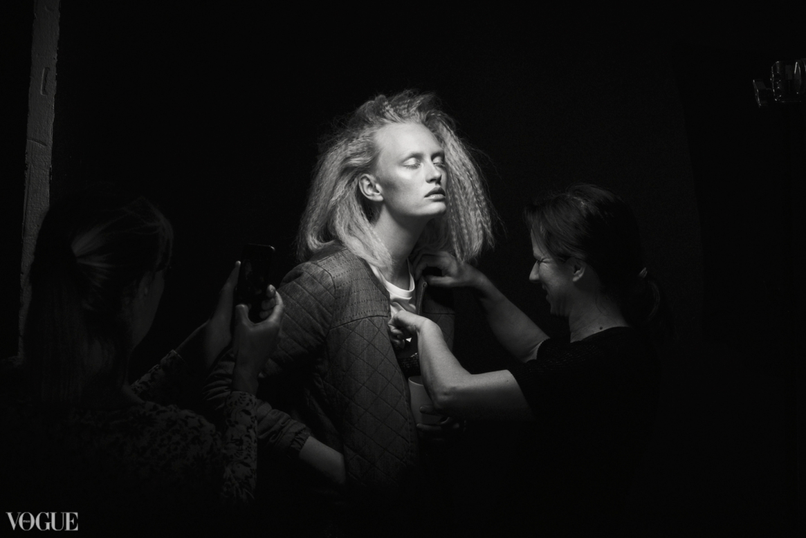 Luca Aimee Behind the scenes by Félix L. Salazar