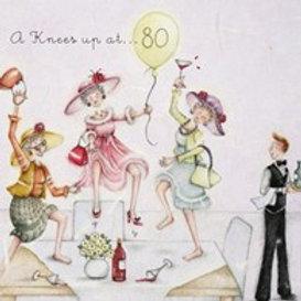 A knees up at... 80 Berni Parker Card