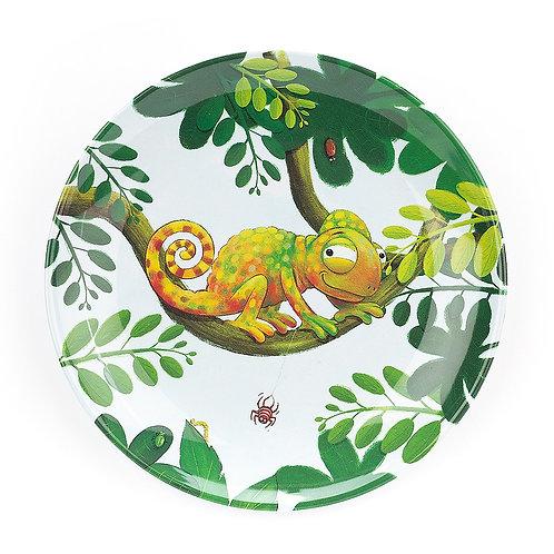 Jellycat Colin Chameleon Melamine Plate