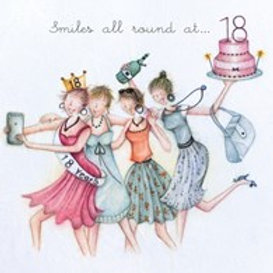 Smiles all round at... 18 Berni Parker Card