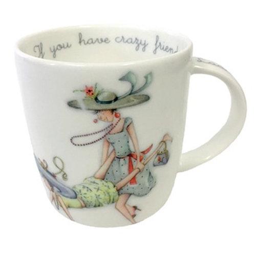 Crazy friends Mug