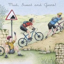 Mud, Sweat and Gears! Berni Parker Card