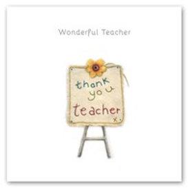 Wonderful Teacher Berni Parker Card