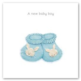 A new baby boy Berni Parker Card