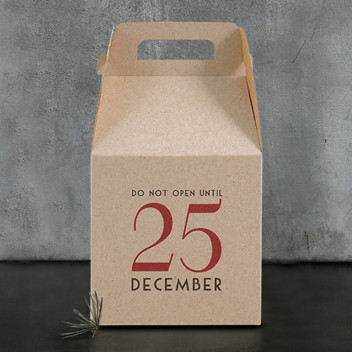 East of India Square Box - Do not open until 25 Dec