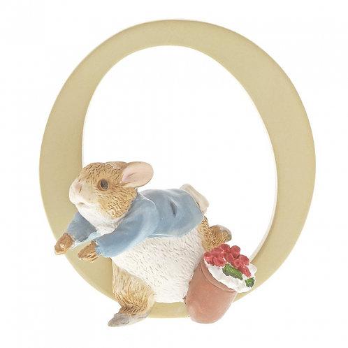 Beatrix Potter Ceramic Letters - Letter O