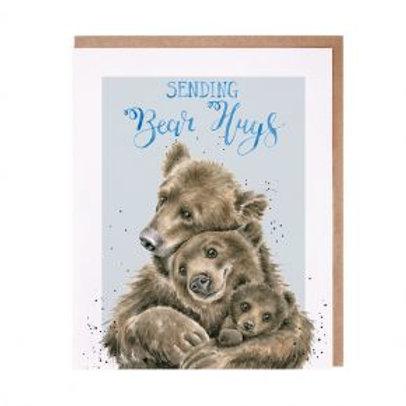 Wrendale Bear Hugs Card