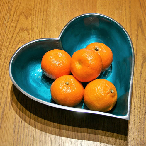 Azeti Aqua Heart Bowl 25cm
