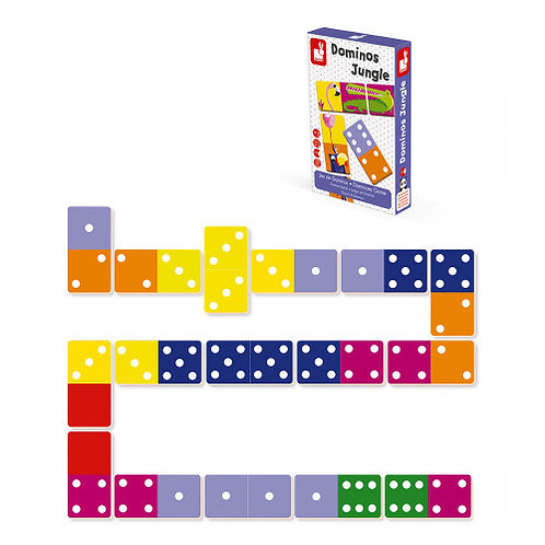 Dominos Jungle Game