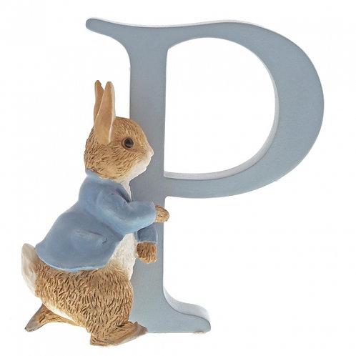 Beatrix Potter Ceramic Letters - Letter P