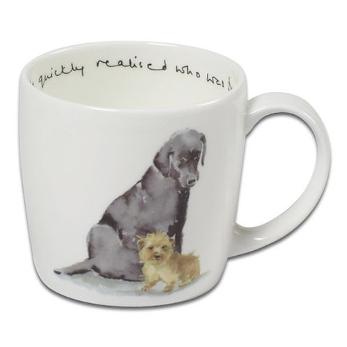 Trumpers World Mug - He quickly realised who was boss