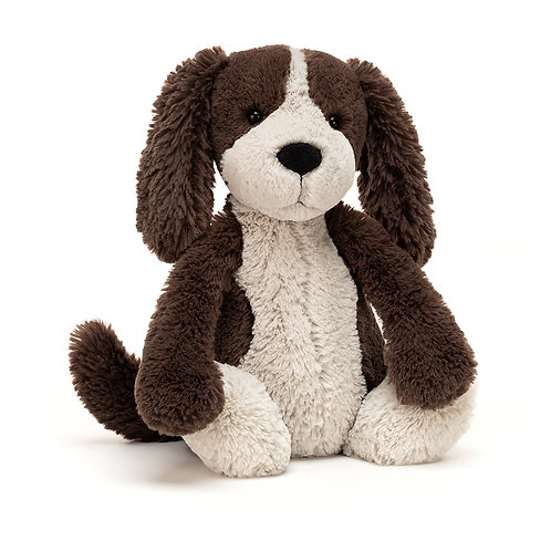 Jellycat Bashful Fudge Puppy - Various Sizes