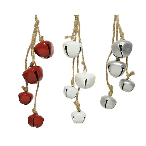 Iron Bell Decoration (Various Colours)