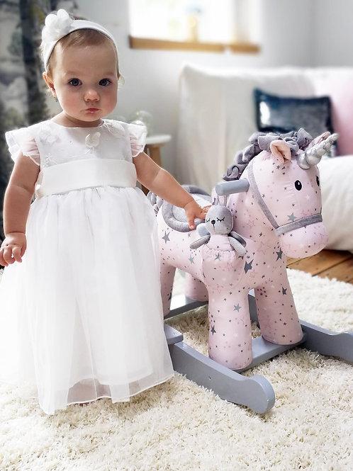 Celeste and Fae Rocking Unicorn