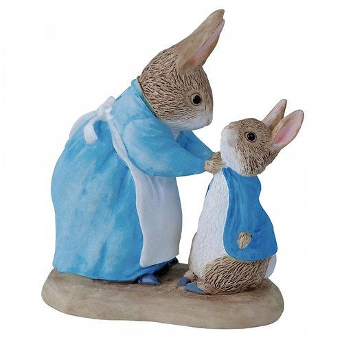 Beatrix Potter Mrs Rabbit and Peter