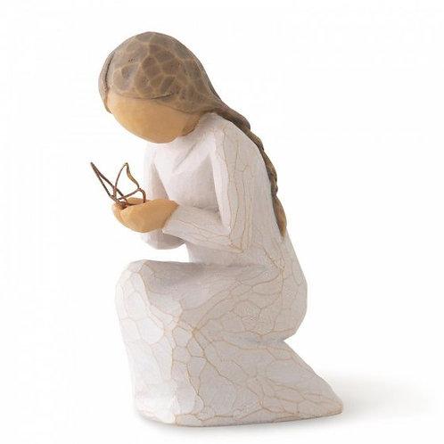 Quiet Wonder Willow Tree Figurine